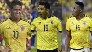 Lesionados Colombia Collage