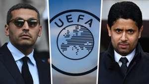 Khaldoon Al Mubarak UEFA Nasser Al-Khelaifi