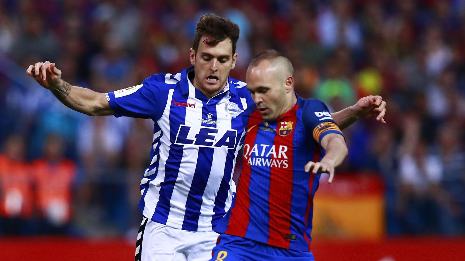 Andres Iniesta Barcelona Alaves Copa del Rey final