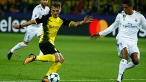 Maximilian Philipp Raphael Varane Borussia Dortmund Real Madrid Champions League 26092017