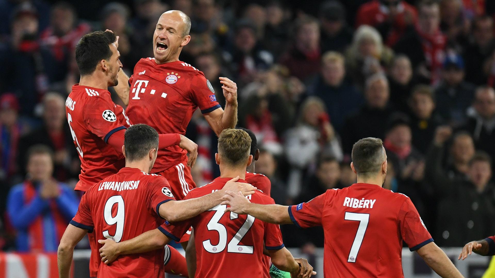 FC Bayern München CL 2018
