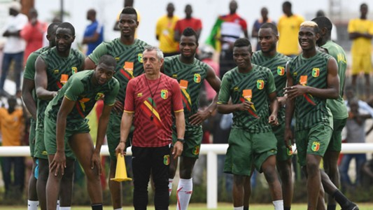 Mali - Afcon 2017 training