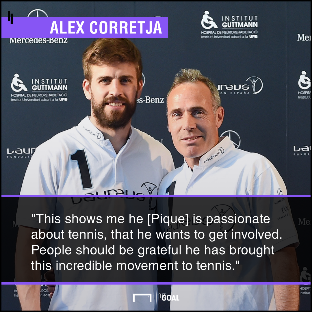 Corretja on Pique quote