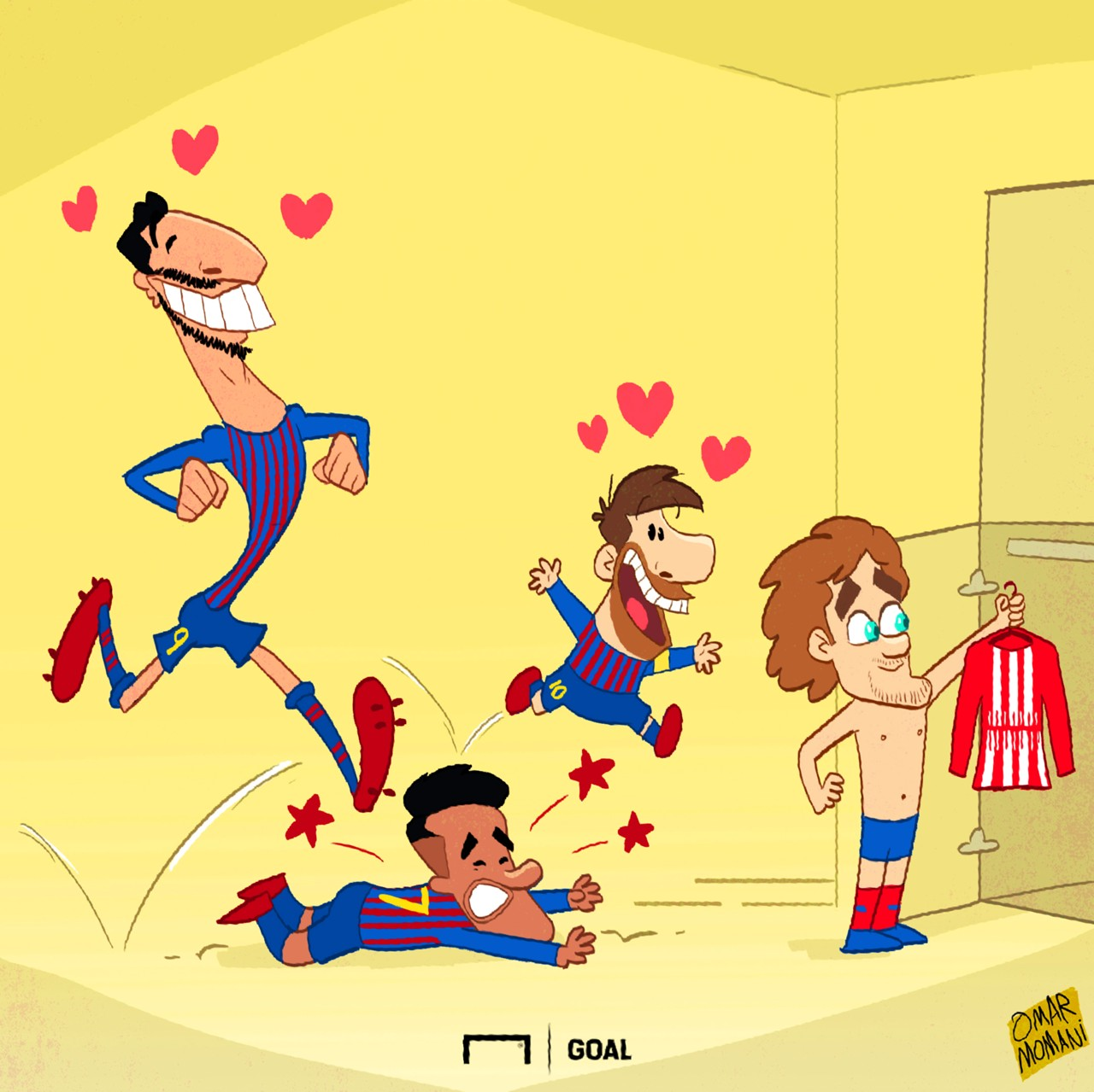 Antoine Griezmann Cartoon
