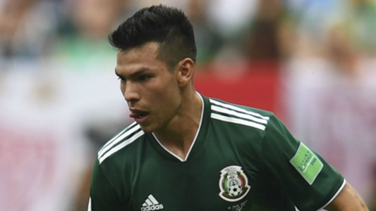 Hirving Lozano Mexico 2018