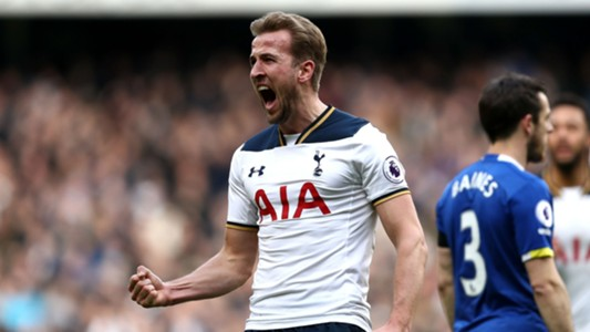 Tottenham Everton Harry Kane