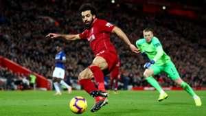 Mohamed Salah Liverpool vs Everton Premier League 2018-19