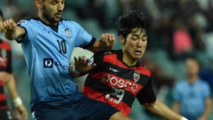 Kim Dong Hyeon Pohang Steelers Sydney FC AFC Champions League 04052016