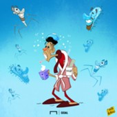 CARTOON Ramos Virus
