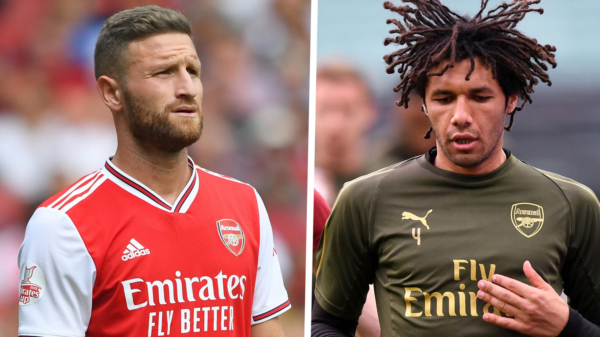 Emery urges Mustafi and Elneny to leave Arsenal