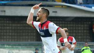 Diego Falcinelli Crotone Chievo Serie A 2017/04/02