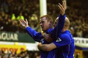 Rooney second goal Everton