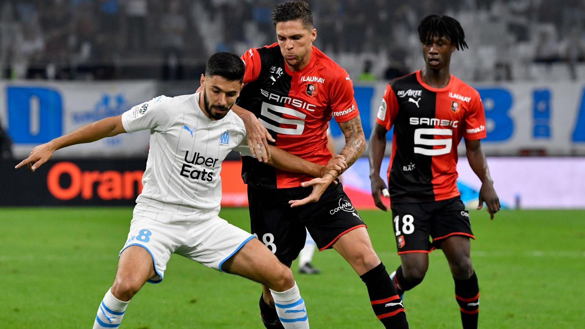 Morgan Sanson Marseille Rennes Ligue 1 29092019