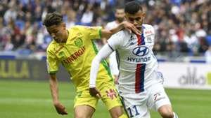 Rachid Ghezzal Amine Harit Lyon Nantes Ligue 1 07052017