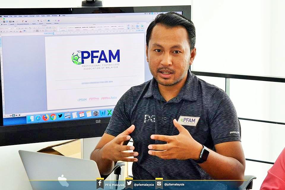 Izham Ismail, Professional Footballers Association of Malaysia