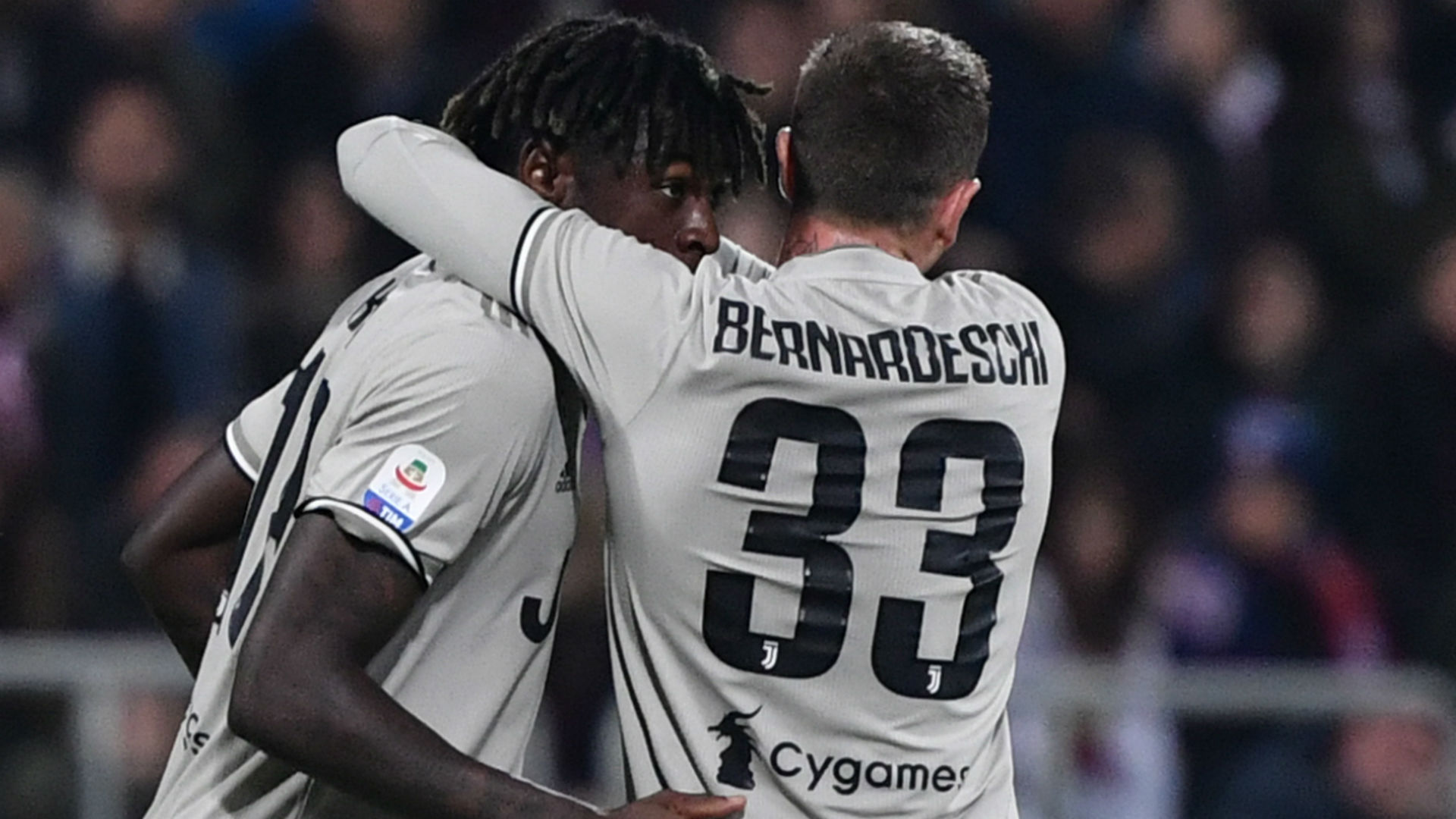 Brother confirms Juventus star Moise Kean is an AC Milan fan