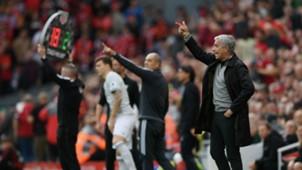 Jose Mourinho Liverpool Manchester United 141017