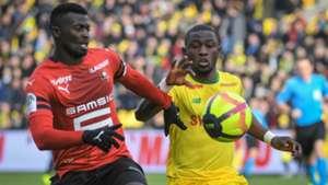Mbaye Niang Majeed Waris Nantes Rennes Ligue 1 13012018