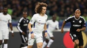 David Luiz Chelsea Qarabag