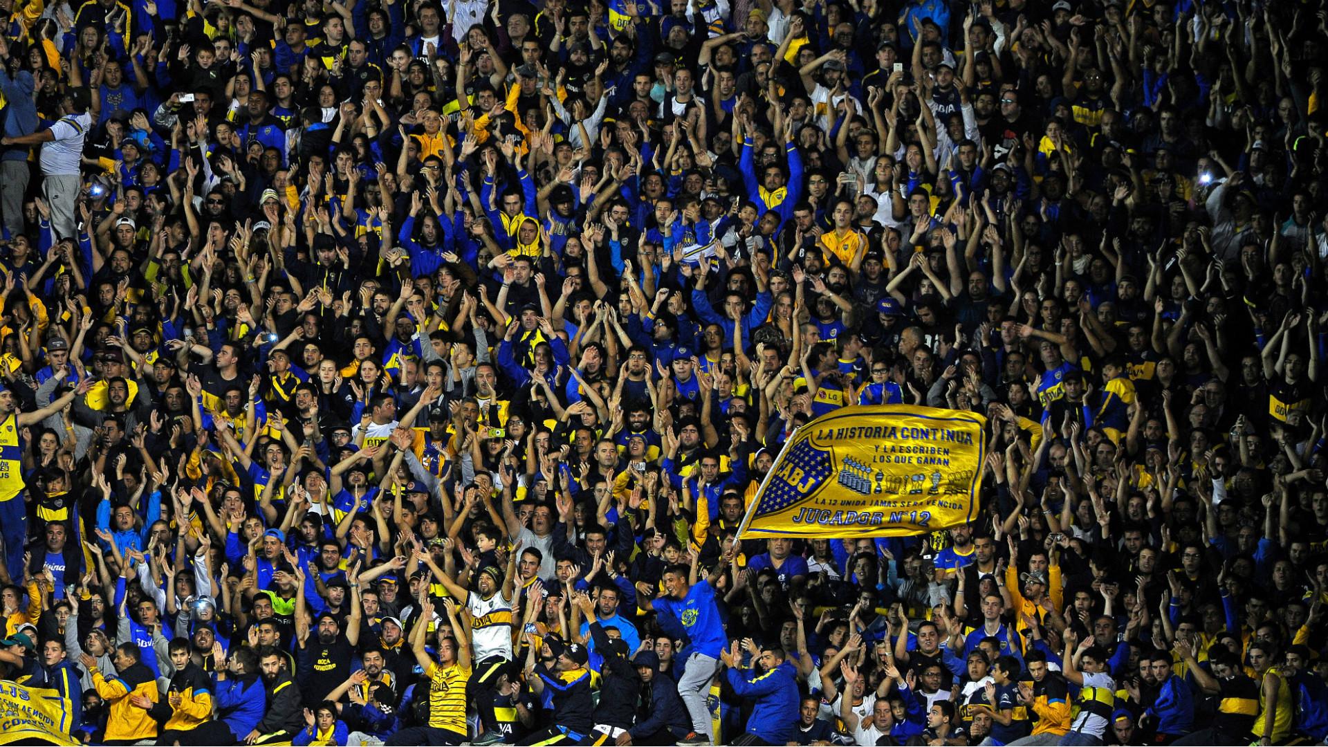 Hinchas Boca Patronato Campeonato Primera Division Fecha 20