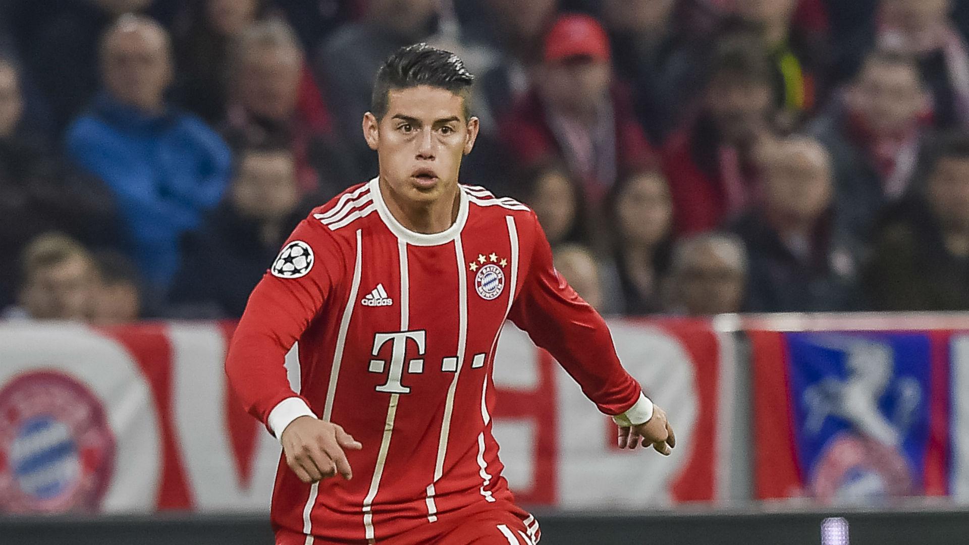 Volvió a ser feliz: James gritó en el Bayern Munich