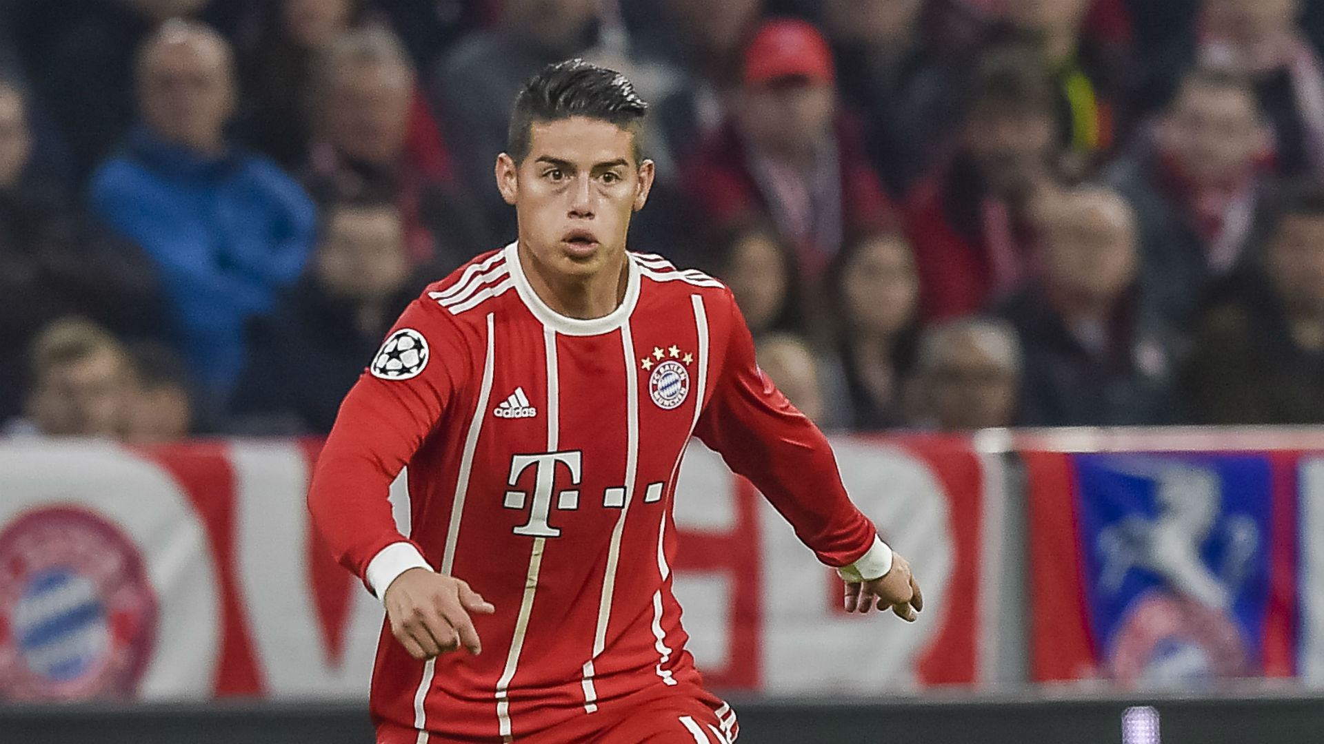 James Rodríguez Bayern Munich 2017/2018