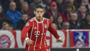 James Rodríguez Bayern Munich 2017/2018