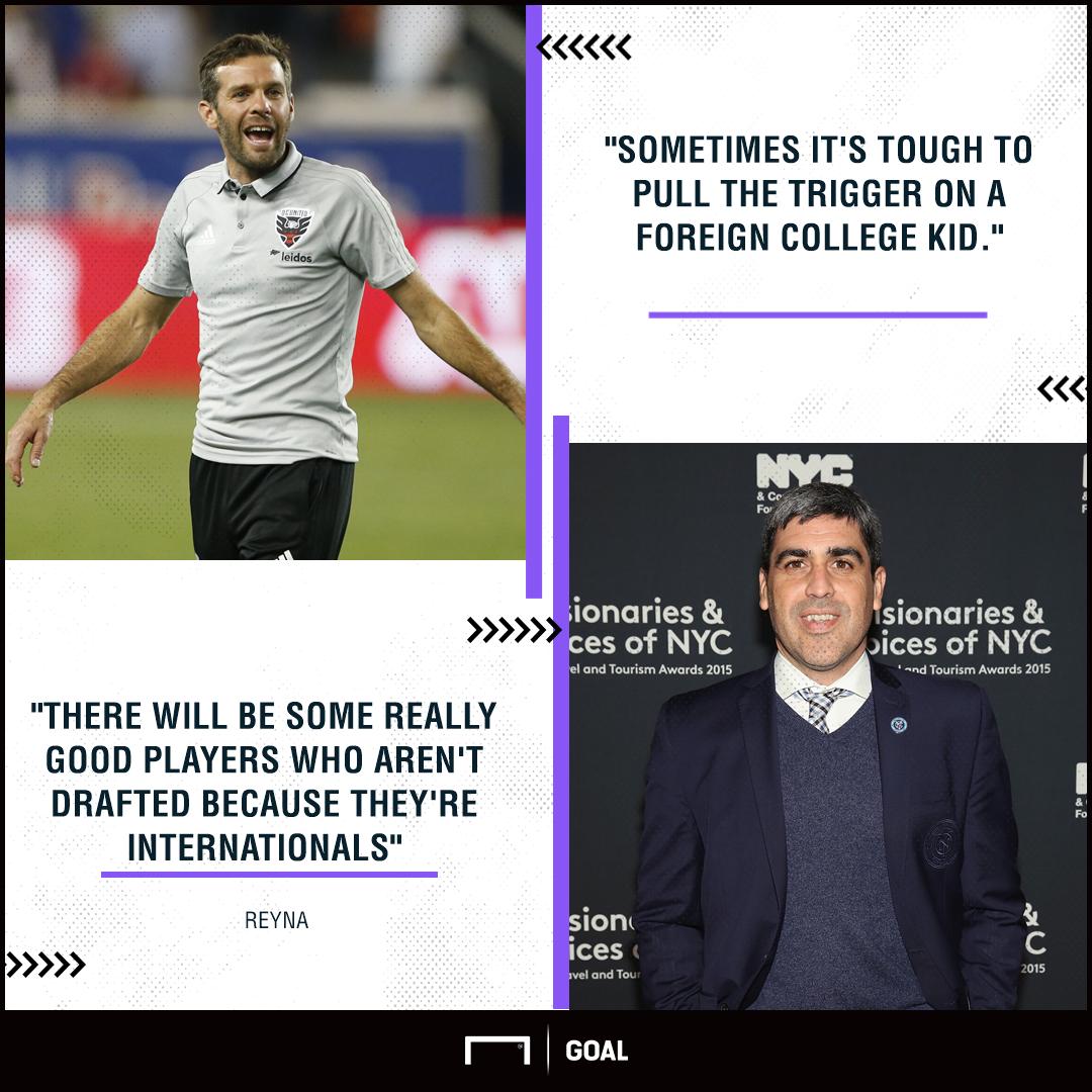 MLS draft quotes