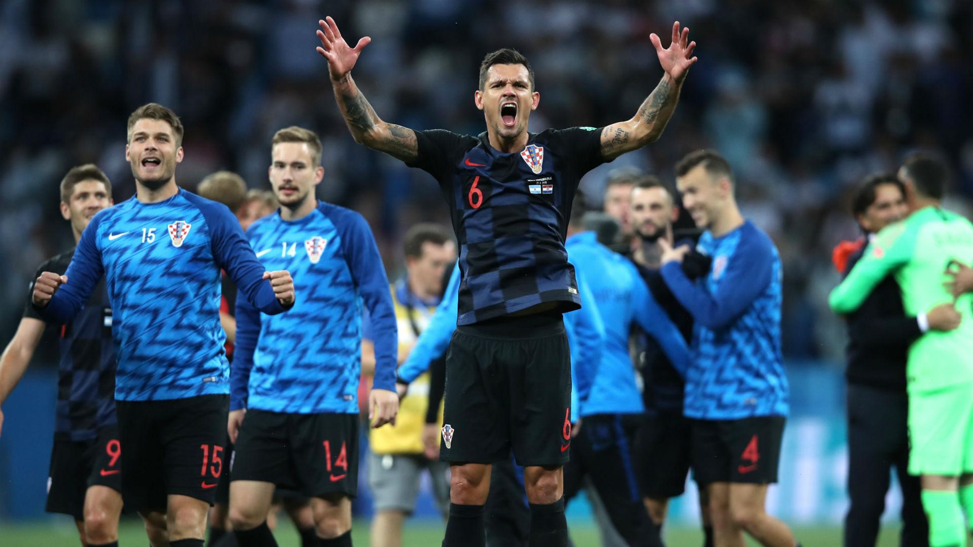 croatia argentina - dejan lovren - world cup - 21062018