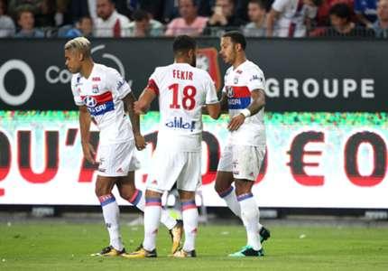 Diaz Depay Fekir Olympique Lyon