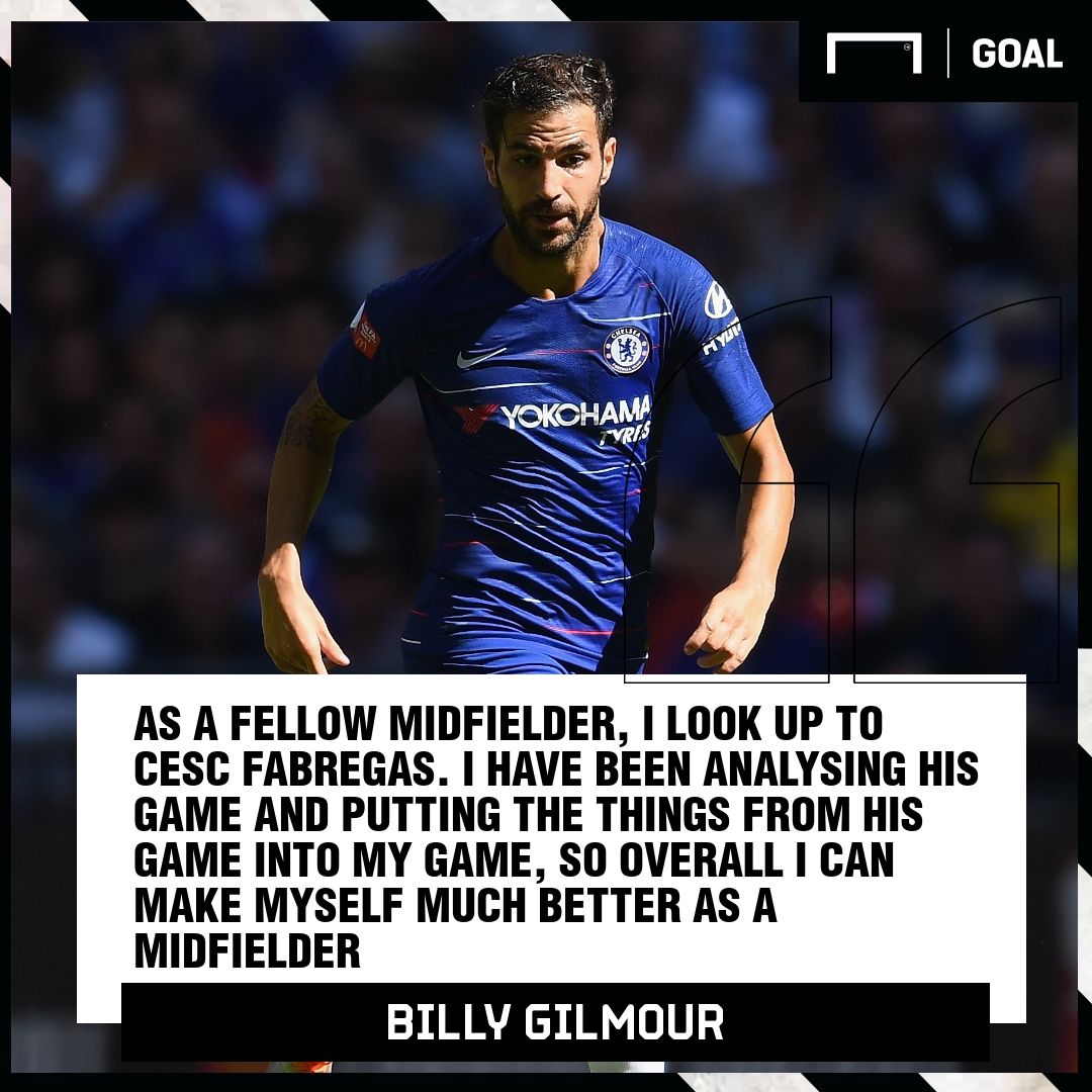 Billy Gilmour quote GFX