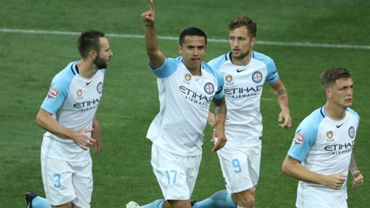 Tim Cahill Melbourne City v Central Coast Mariners A-League 19012017