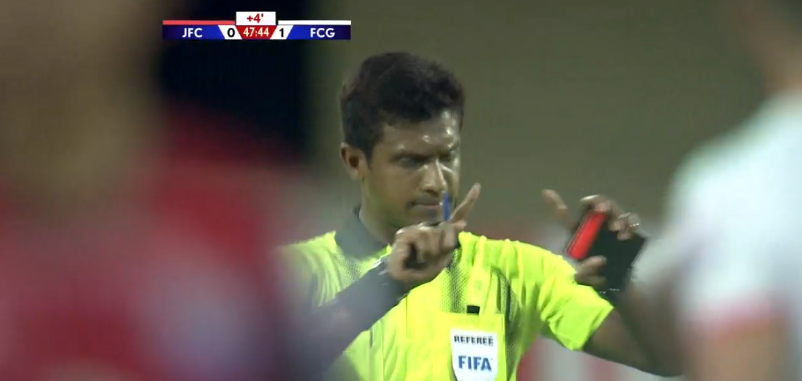 Venkatesh referee