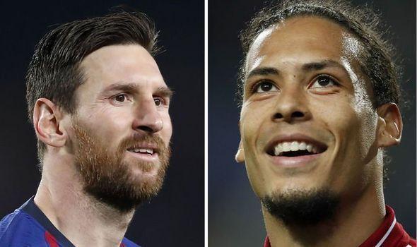 Van Dijk Messi