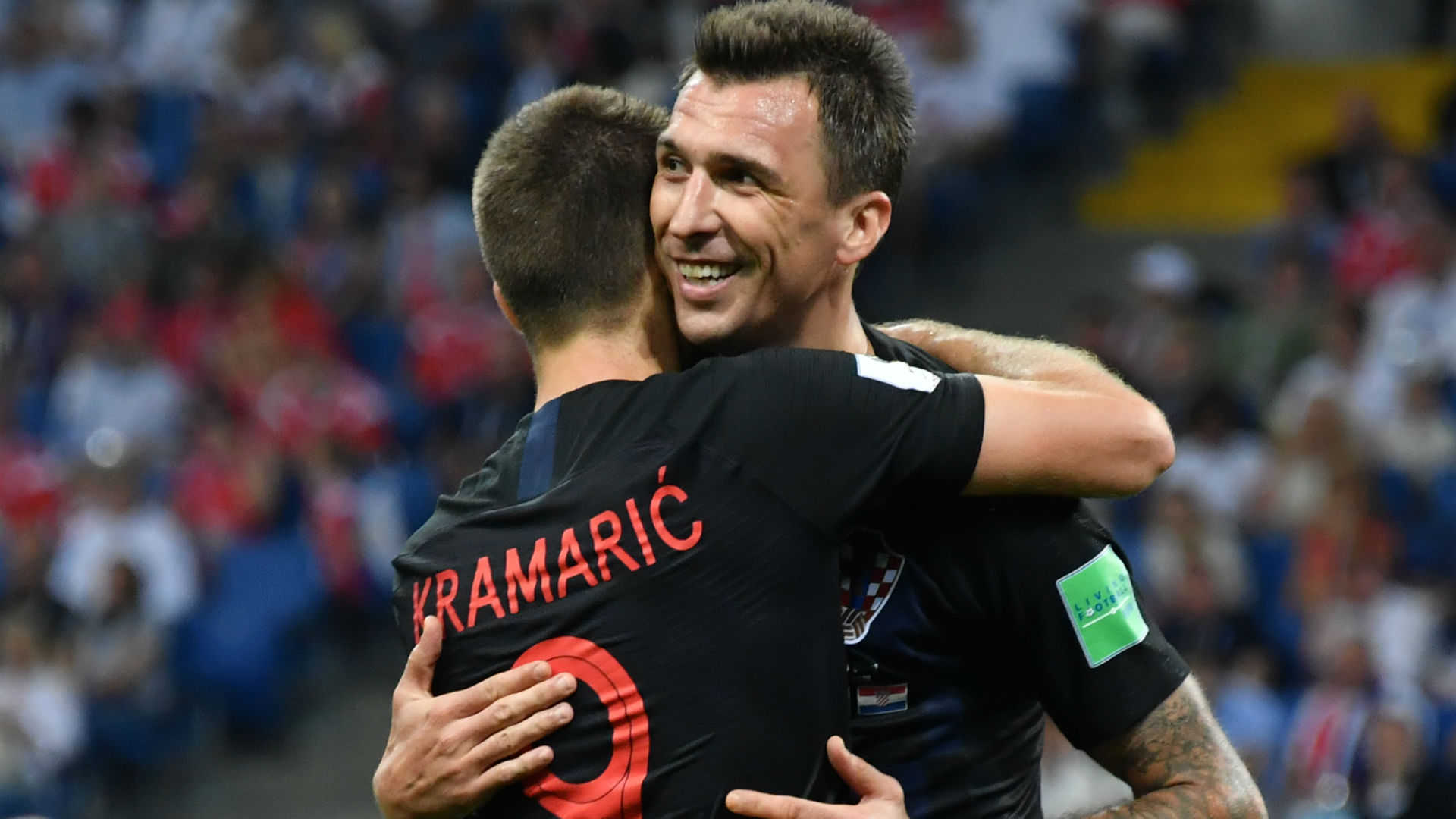russia croatia - mario mandzukic andrej kramaric - world cup - 07072018