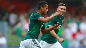 Giovani dos Santos Mexico Scotland international friendly 2018