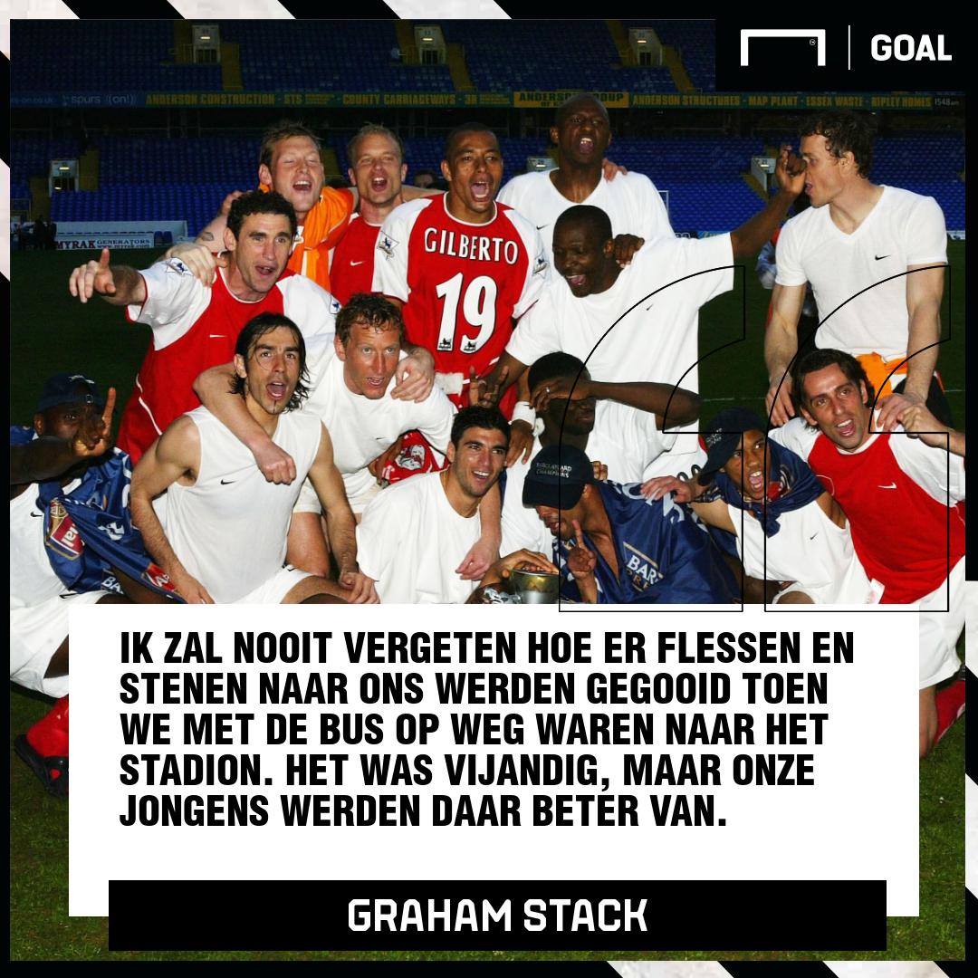 GFX Graham Stack, Arsenal