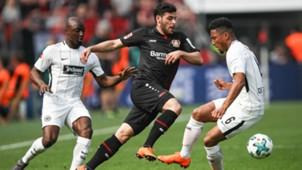 Kevin Volland Jerto Willems Bayer Leverkusen Eintracht Frankfurt 14042018
