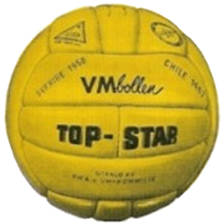 Top Star 1958 World Cup ball