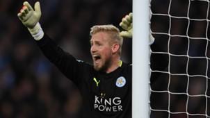 Kasper Schmeichel Leicester City Champions League