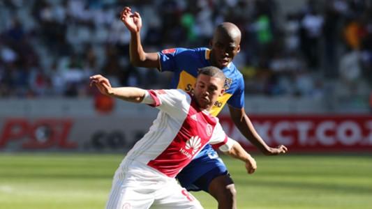 Grant Margeman, Ajax Cape Town & Mpho Matsi, Cape Town City