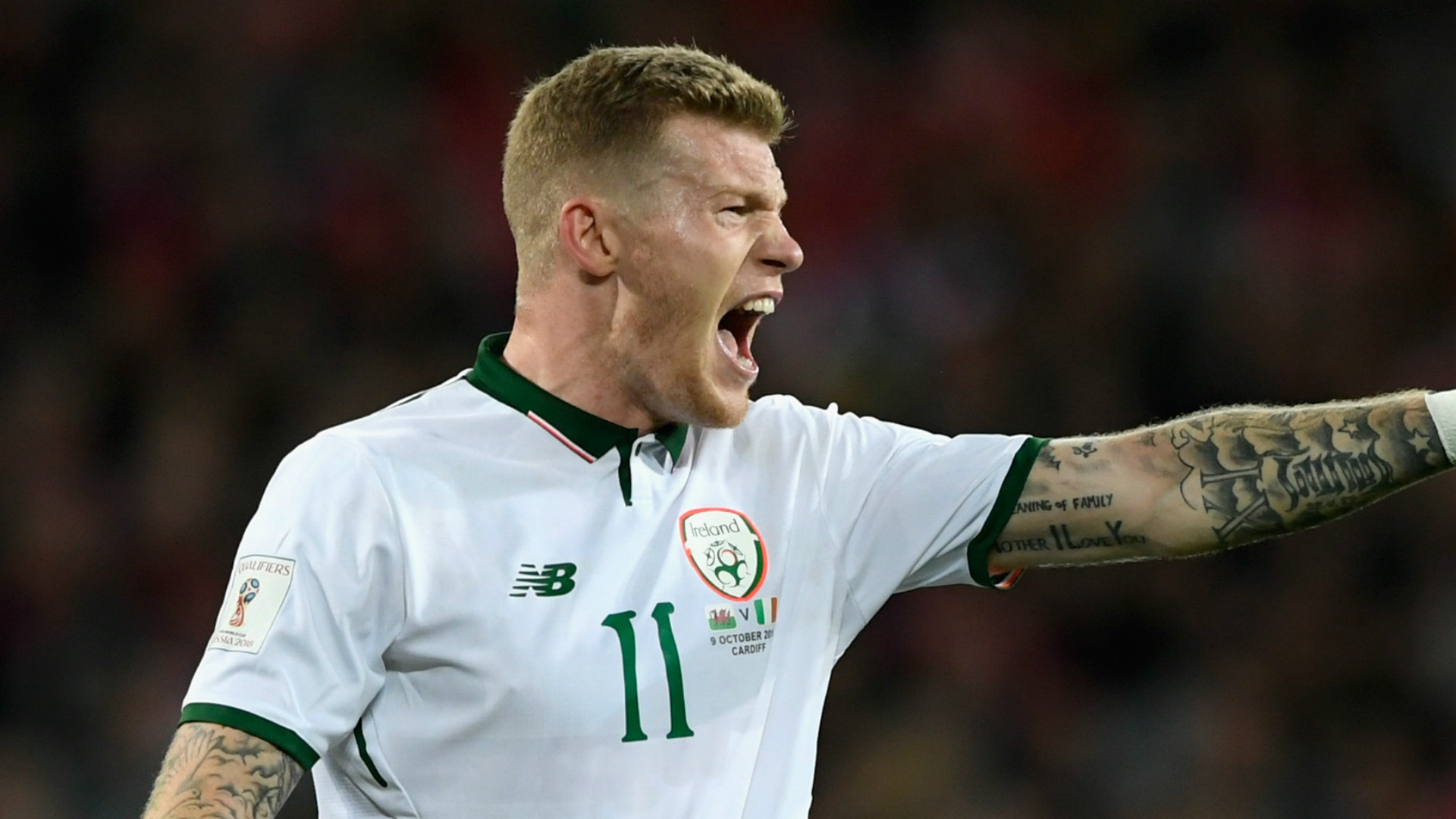 James McClean Republic of Ireland