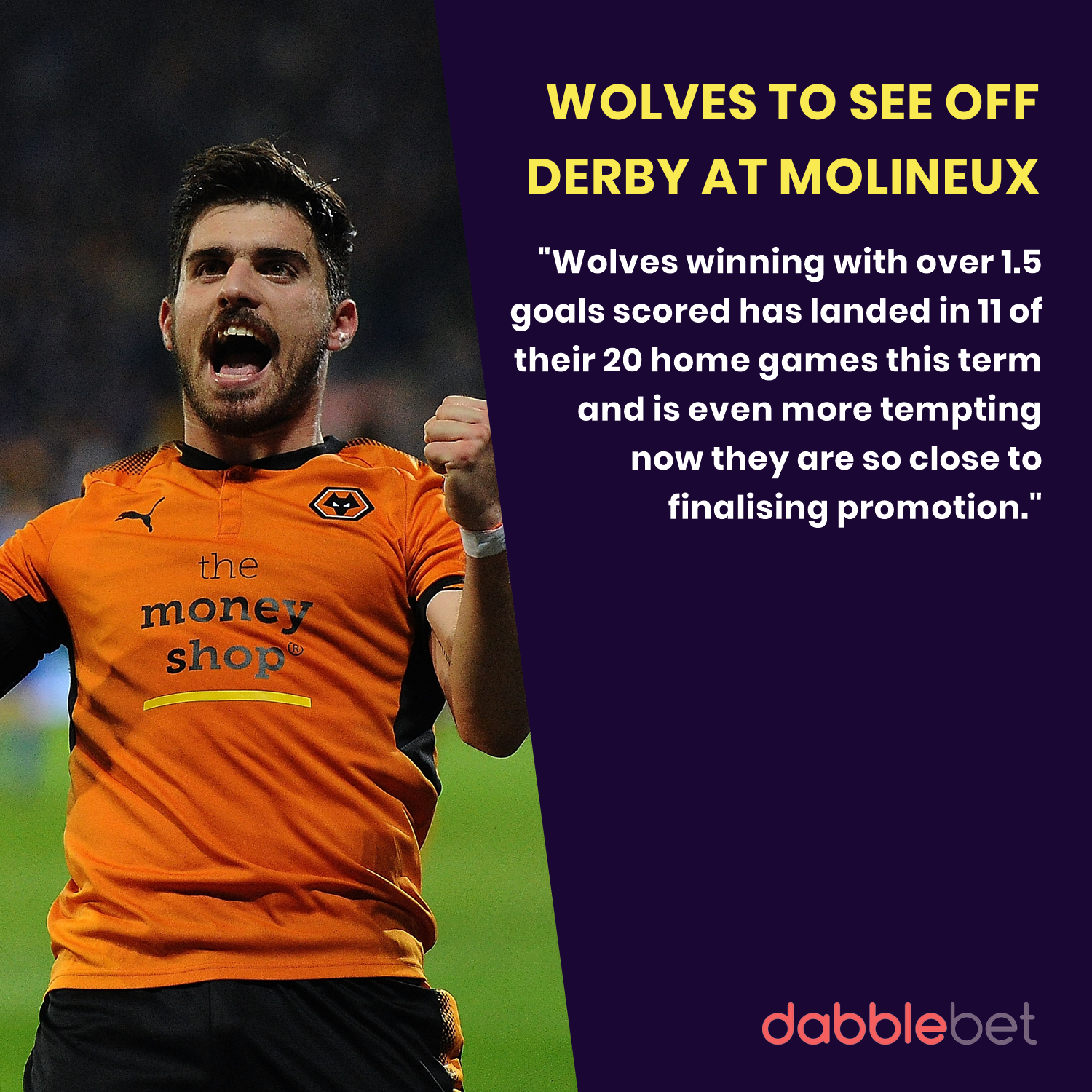 Wolves Derby graphic
