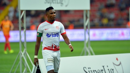 Samuel Eto'o Kayserispor Antalyaspor 09152017