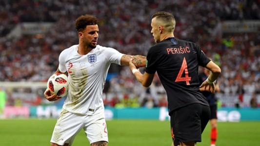 Kyle Walker Ivan Perisic Croatia England 11072018