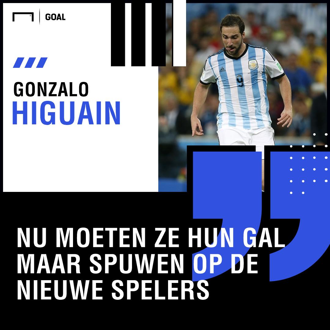 Quotes Higuain Dutch