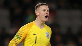 Dean Henderson England U21s 2019