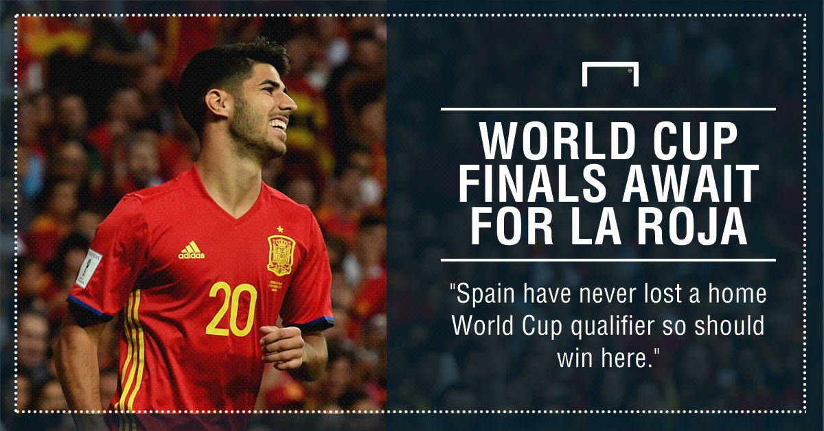 Spain outclass Albania 3-0 to seal 2018 FIFA World Cup berth