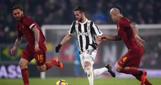 Miralem Pjanic Juventus Roma Serie A