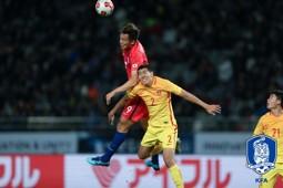 Kim Shin-wook Korea vs China